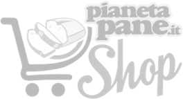 Logo pianetapane shop grigio