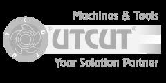 utcut logo grigio